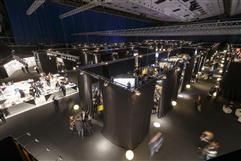 Excited exhibitors and visitors at A@W VIENNA 2016